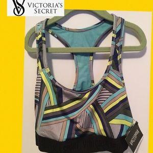 (Victoria's Secret) sz med NWT racerback sport bra